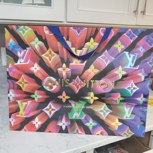 Rare very  large LV limited edition shopping bag